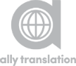 Ally Translation Sticky Logo